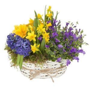"""Koszyk Wielkanocny """"kolorowy"""""""