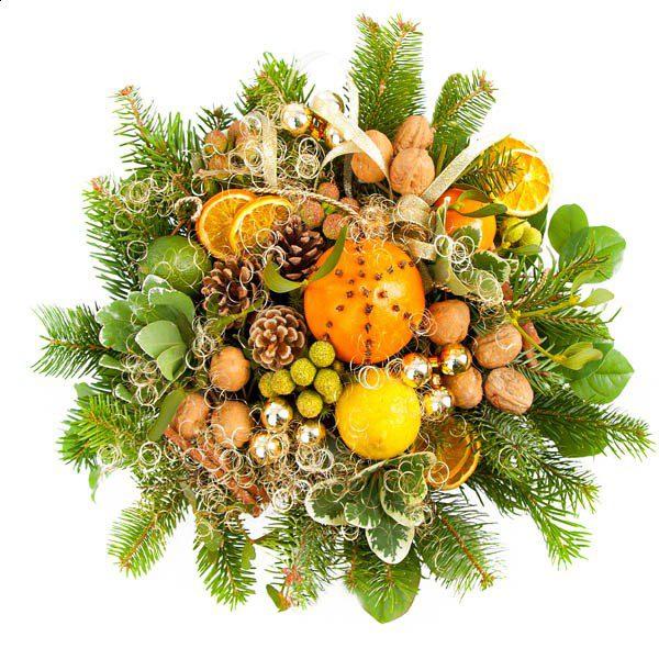 Bukiet z owocami 1