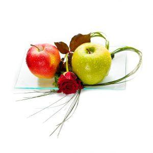 Jabłka z róża