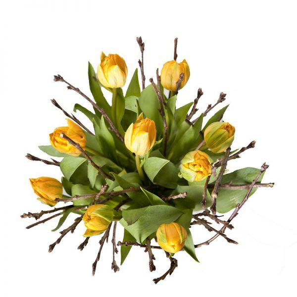 Bukiet wiosenne tulipany