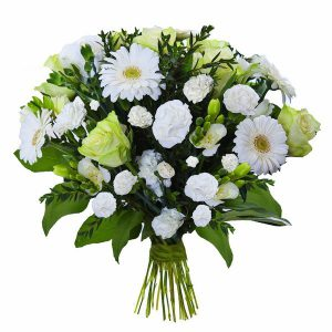 """,,Białe kwiaty online"""""""
