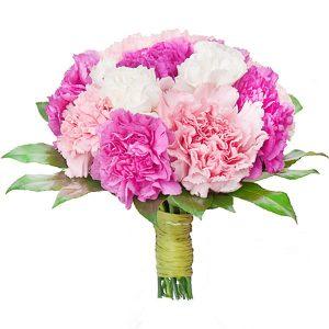 Bukiet ,,Różowe goździki''