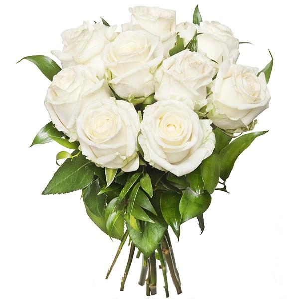 Bukiet Białe Róże - Kwiaciarnia internetowa - Gdynia, Gdańsk - Kwiaty Online
