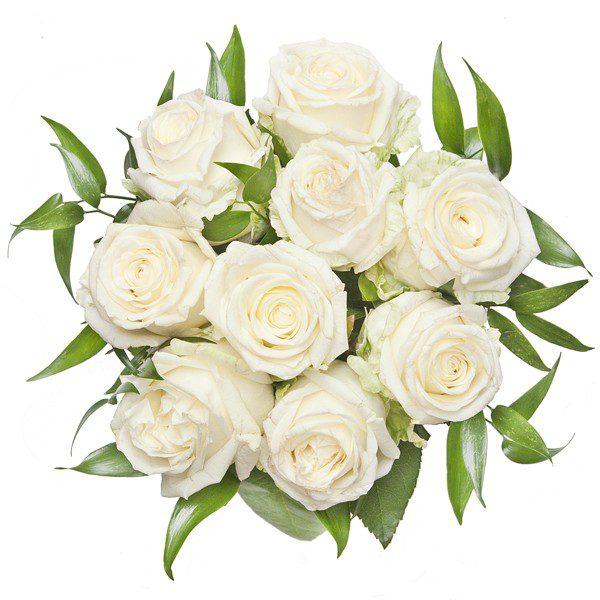 Bukiet ,,Białe róże''
