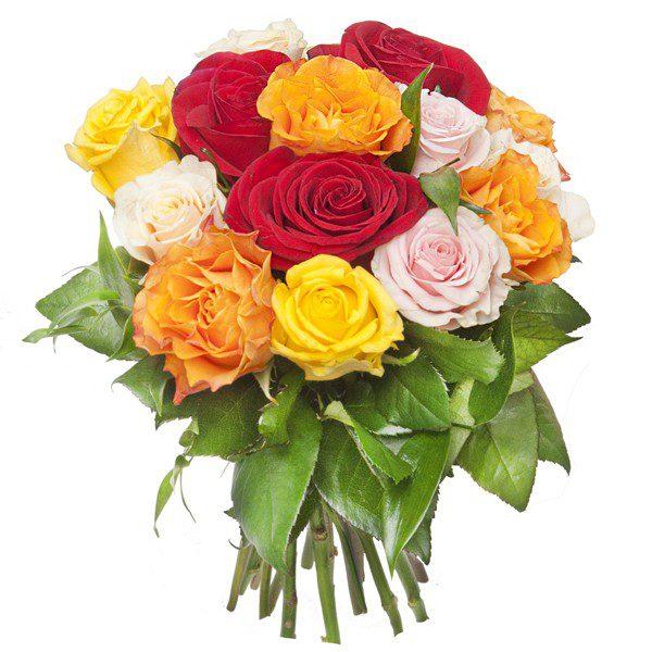 Bukiet ,,Kolorowe róże''