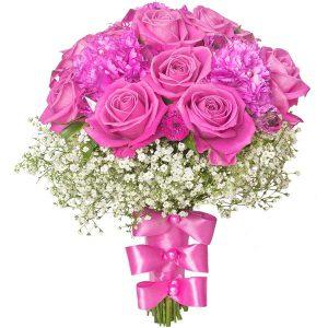 """Bukiet,,Różowe Diamenty"""""""