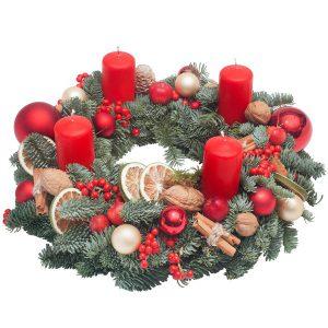 """,,Świąteczny Wianek Adwentowy"""""""