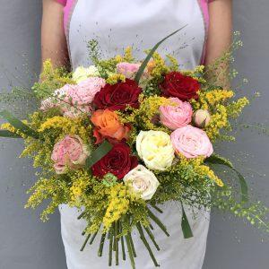 """Bukiet """"Pachnące róże ogrodowe"""""""