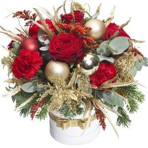 Świąteczny flowerbox
