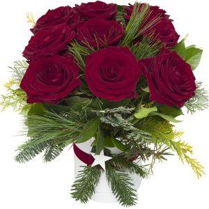 """Flower box """"Na Gwiazdkę"""""""