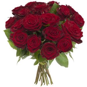 Bukiet Średnie Czerwone Róże