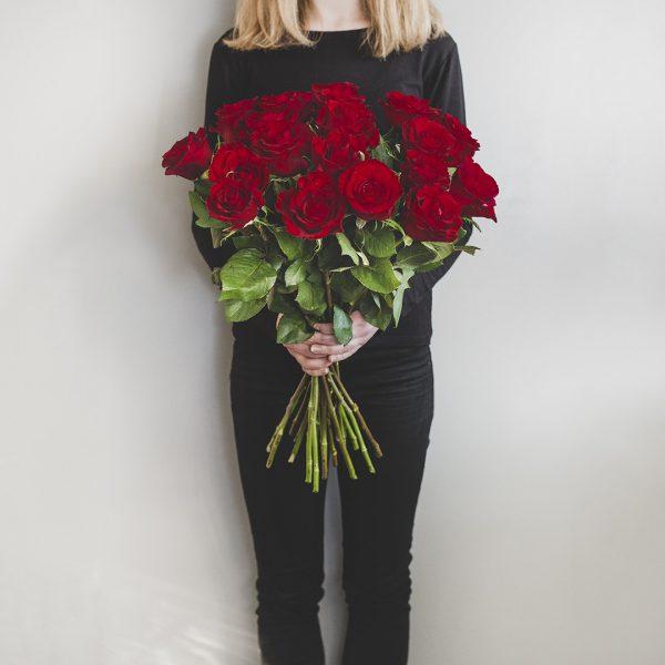 """Bukiet """" Średnie czerwone róże"""""""