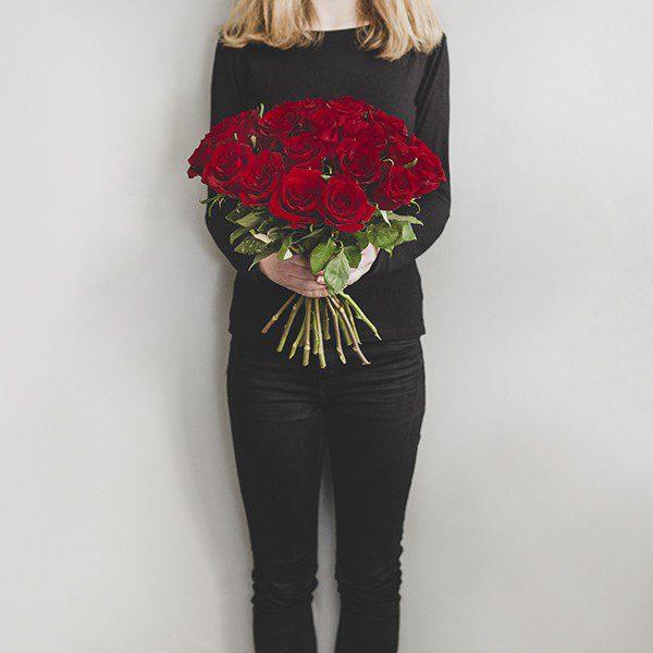 """Bukiet """"Długie czerwone róże"""""""