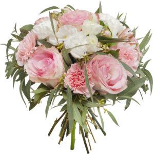 Bukiet różowo-biały